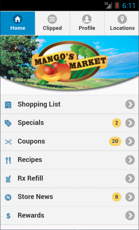 Mango's Market- screenshot