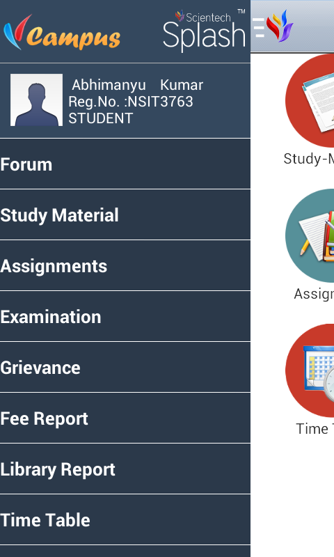 NSIT VCampus- screenshot