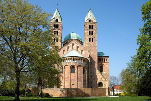 TheromanesqueSpeyer Cathedral in Germany was completed in 1030 and remodeled at the end of the 11th century. A UNESCO World Heritage site, it can be viewed during several river cruises.