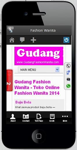 Toko Online Fashion Wanita