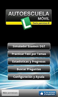 Tests de Conducir DGT (Coche) - screenshot thumbnail