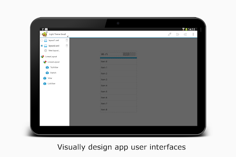 AIDE- IDE for Android Java C++ – Miniaturansicht des Screenshots