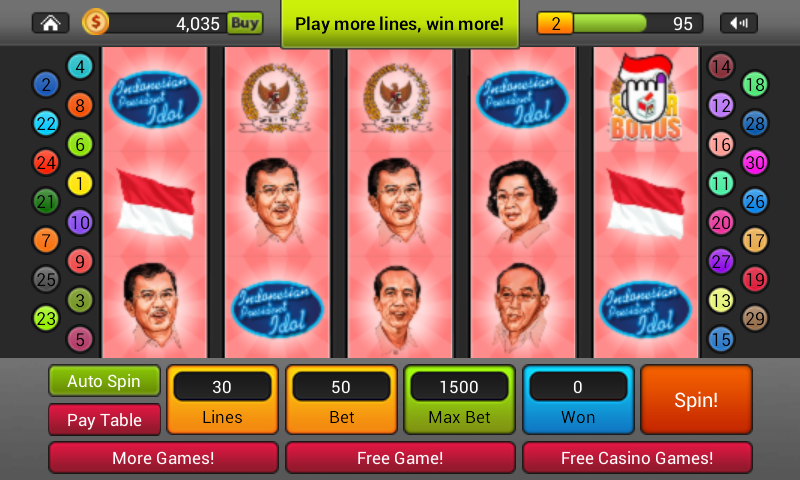 Pemilu Slots - screenshot