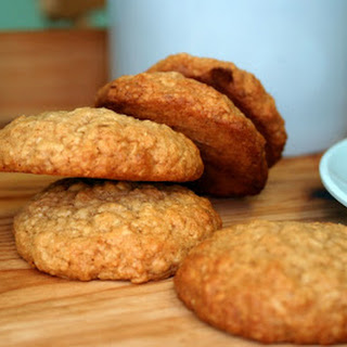 Honey And Cinnamon Oat Biscuits.