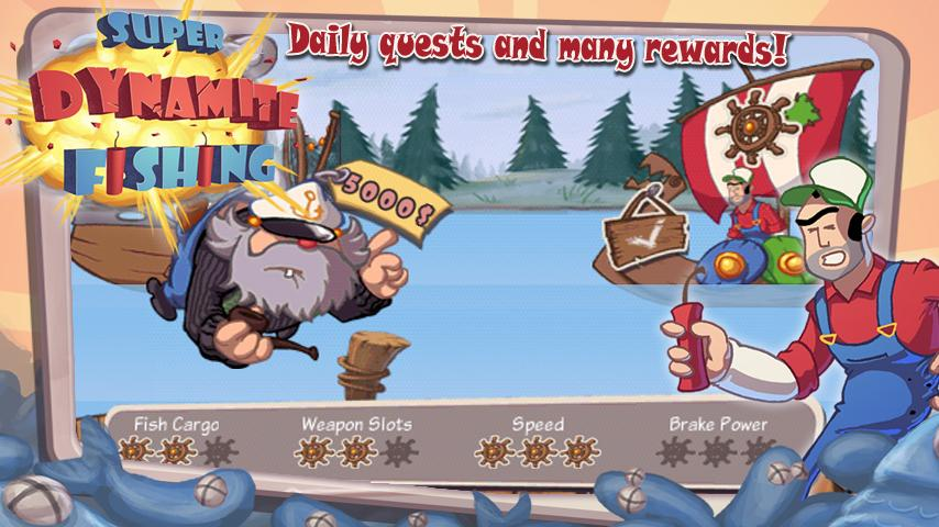 Super Dynamite Fishing Premium - screenshot