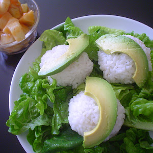 Tuna, Cream Cheese, and Avocado Rice Balls