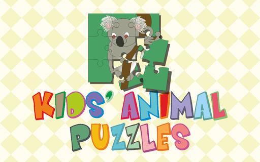 Kids' Animal Puzzles