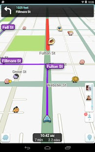 Waze Social GPS Maps & Traffic - screenshot thumbnail