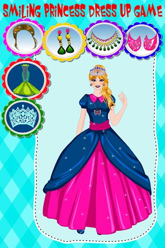 笑顔姫ドレスアップゲーム