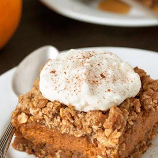 Gluten-Free Pumpkin Pie Streusel Bars