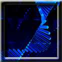 3D Android DNA LWP logo