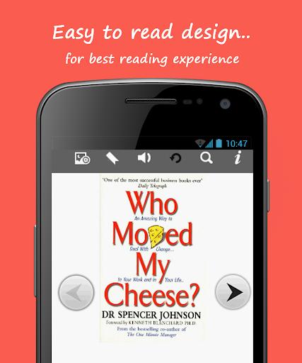 【免費書籍App】Who Moved My Cheese?-APP點子