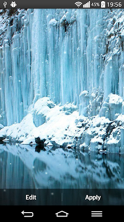 Frozen Waterfall LWP 2.0 screenshot 2081467