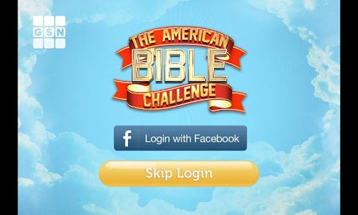 The American Bible Challenge - screenshot thumbnail