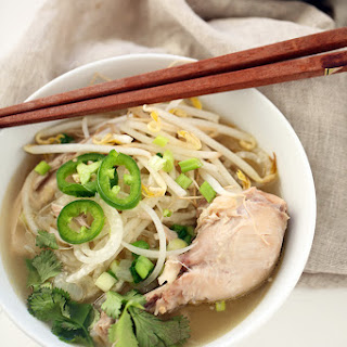 Chicken Pho with Daikon Noodles