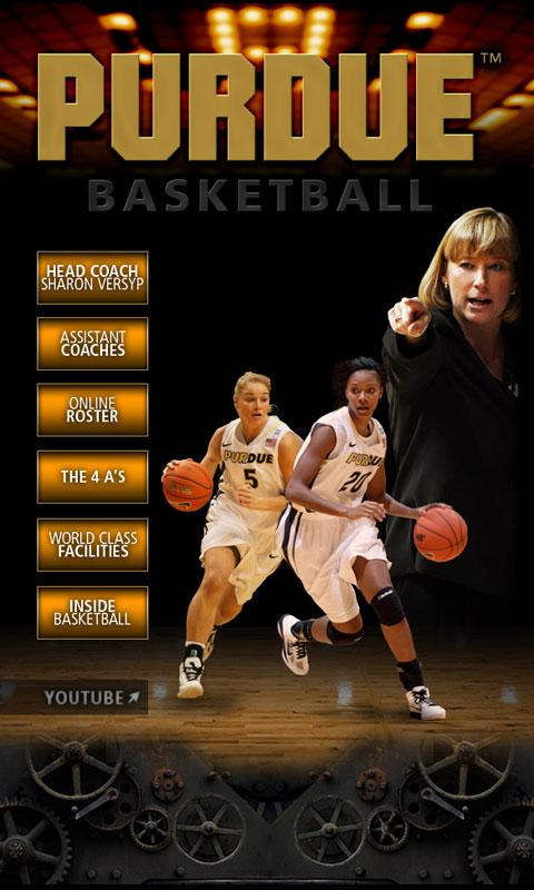 Purdue Women's Basketball - screenshot