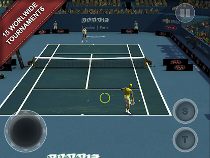 Cross Court Tennis 2- screenshot thumbnail