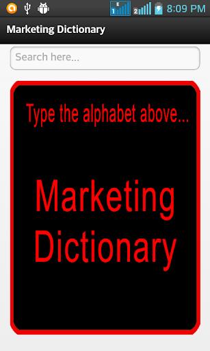 marketingDictionary