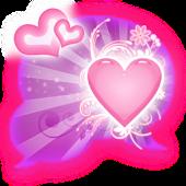 GO SMS - Heart Beauty