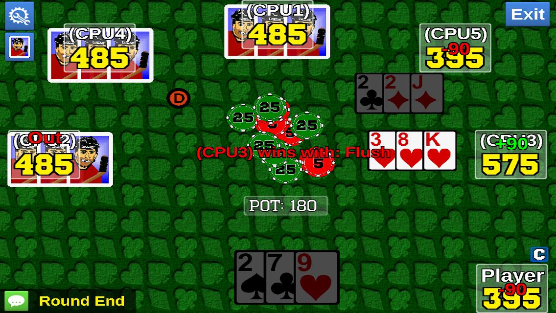 Poker guts game