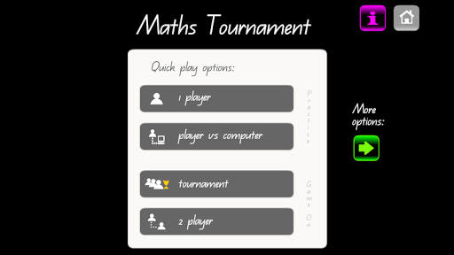 Maths Tournament