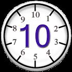 Base 10 clock (Daydream) icon