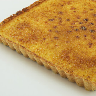 Maple Crème Brûlée Tart and How To Blind Bake Pastry
