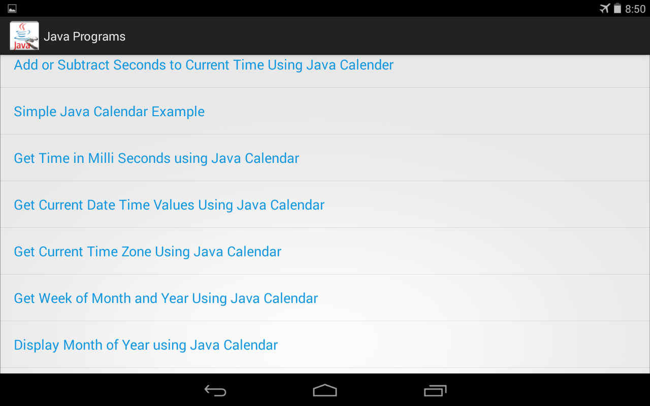 java programs output android apps on google play 100 java programs output screenshot