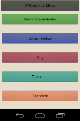 IP Tools- screenshot
