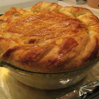 Steak & Guinness Puff Pastry Pie.