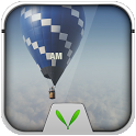 Fire Balloon Live Locker Theme icon