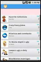 Screenshot of 1001 funny jokes of all time