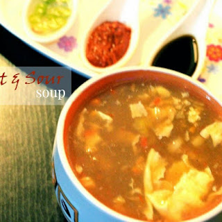 Hot and Sour Chicken Soup.