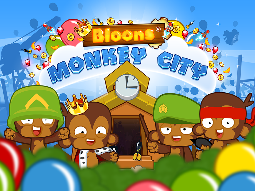 #15. Bloons Monkey City (Android)