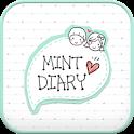Mint Diary go launcher theme icon