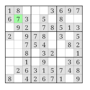 Sudoku-7 Mobile for PC and MAC