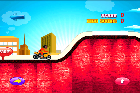 Hill Racer Game