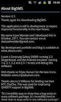 Screenshot of BigSMS (Send Long SMS)
