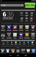 Screenshot of LC Black Theme Apex/Go/Nova