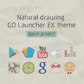 N.Drawing GO Launcher EX theme