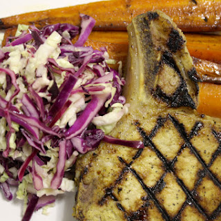 Whiskey Maple Grilled Pork Chops.