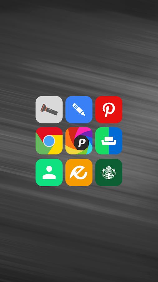 Alos - Icon Pack - screenshot