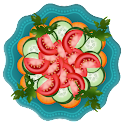 salade jeu de cuisine icon