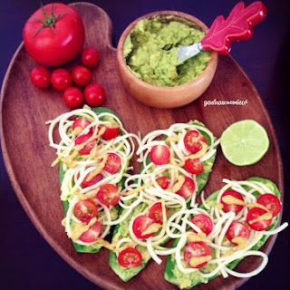 Nopal (Cactus) Raw Vegan Tostadas
