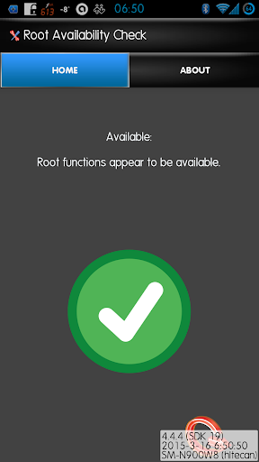 Root Availability Check