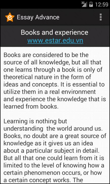 advance english essay android apps on google play advance english essay screenshot