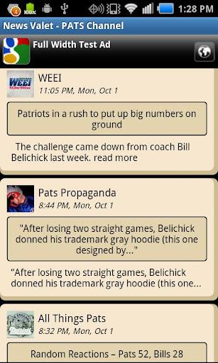 New England Patriots NewsValet