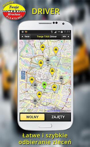 Twoje TAXI Driver Wrocław