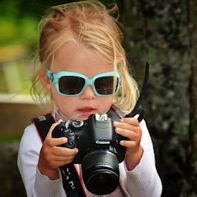 You have to start early to be a good photographer.... by Stine Engelsrud - Babies & Children Child Portraits ( photowall, photomafia, kids_circle, wu_norway, kidstagram, creativeparents, cutekidsclub, hot_shotz, ig_kids, bestofnorway, allshots, bd )