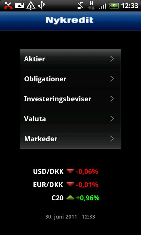 Finance - screenshot